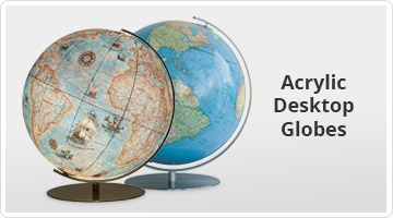 Acrylic Desktop Globes