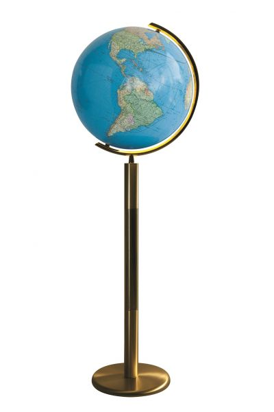 Illuminated Floor Globes Free Shipping On Standing World Globes